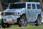Voitures de Luxe Occasion Hummer  H2 525 CH KIT SUPERCHARGED